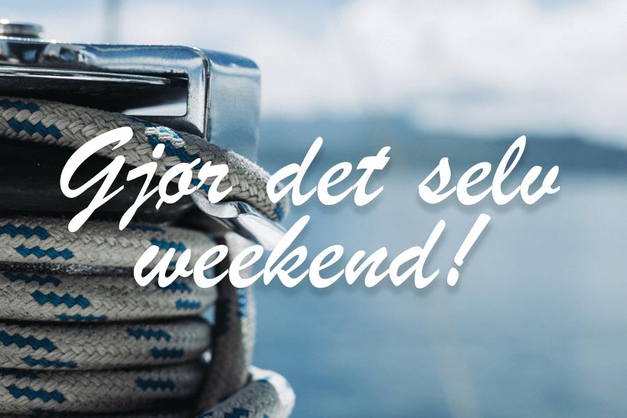 Gjør det selv weekend